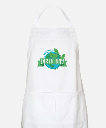 Save Our Planet Earth Day 2018 Earth D Light Apron