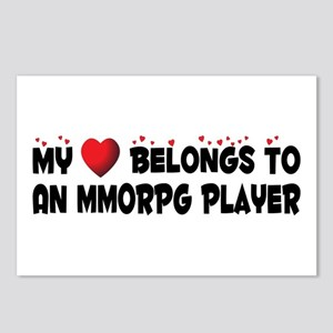 Belongs To An MMORPG Player Postcards (Package of