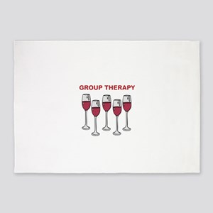GROUP THERAPY 5'x7'Area Rug