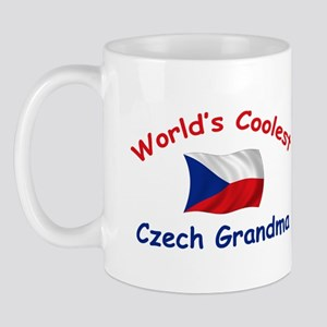 Coolest Czech Grandma Mug