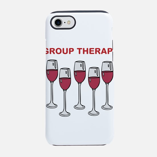 GROUP THERAPY iPhone 8/7 Tough Case