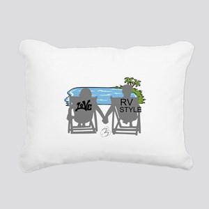 LOVE RV STYLE Rectangular Canvas Pillow