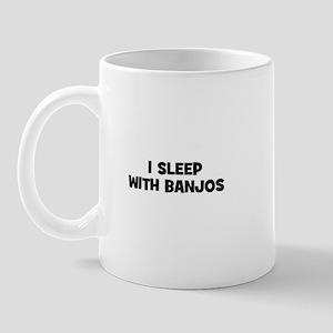 I sleep with Banjos Mug