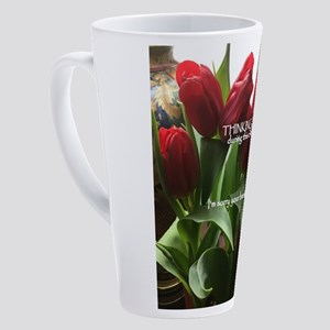 I'm sorry your brackets are br 17 oz Latte Mug