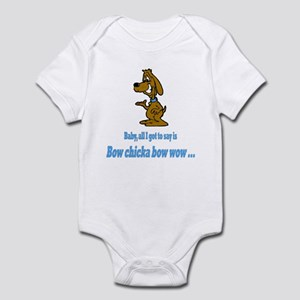 Bow chicka bow wow Infant Bodysuit