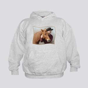 A Man and his Horse - Kids Hoodie