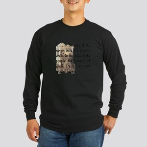 The Grapes of Wrath image & text Long Sleeve T-Shi