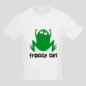 Froggy Girl Kids Light T-Shirt