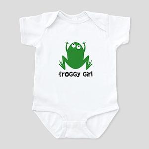 Froggy Girl Infant Bodysuit