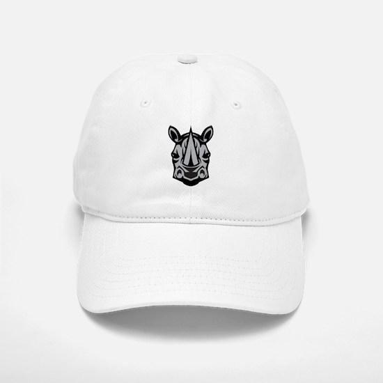 Rhinoceros Baseball Baseball Cap