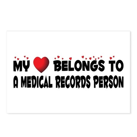 Belongs To A Medical Records Person Postcards (Pac