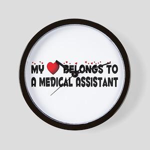Belongs To A Medical Assistant Wall Clock