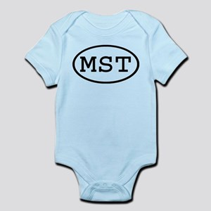 MST Oval Infant Bodysuit