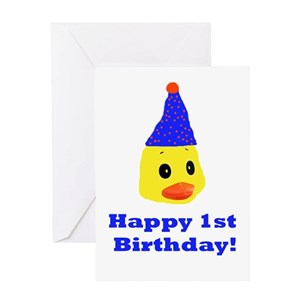 Funny 1st Birthday Greeting Cards
