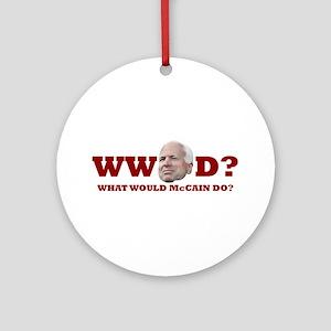WW McCain D? Ornament (Round)