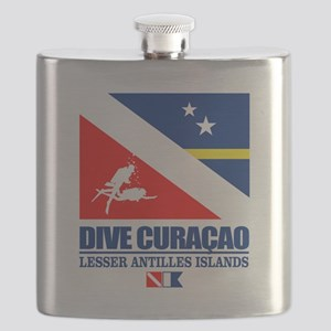 Dive Curacao Flask