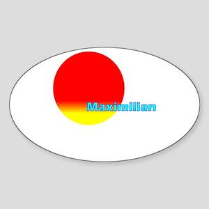 Maximilian Oval Sticker