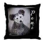 Pumi Throw Pillow