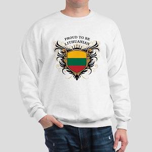 Proud to be Lithuanian Sweatshirt