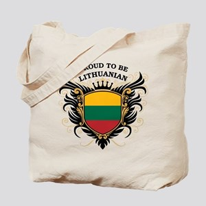 Proud to be Lithuanian Tote Bag