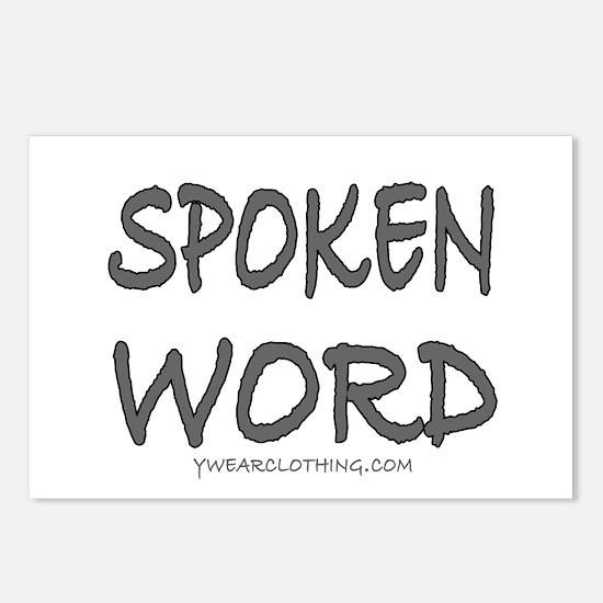 Spoken Word Postcards (Package of 8)