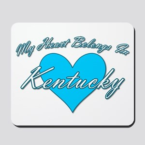 My Heart Kentucky Mousepad