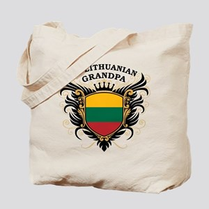 Number One Lithuanian Grandpa Tote Bag