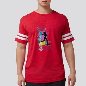 I run like a girl, try and kee Mens Football Shirt