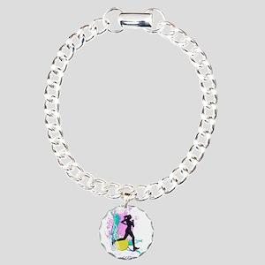 I run like a girl, try a Charm Bracelet, One Charm