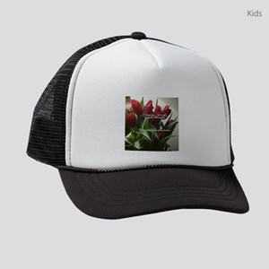 I'm sorry your brackets are b Kids Trucker hat