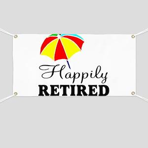 Retired nurse Banner