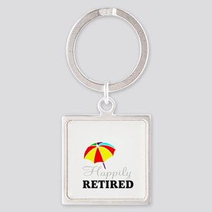 cute retirement Keychains
