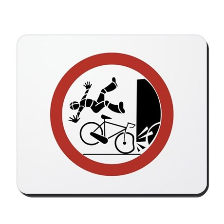Bikers, Be Careful, Switzerland Mousepad