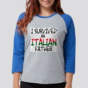 survived-italian-father-flat Long Sleeve T-Shi
