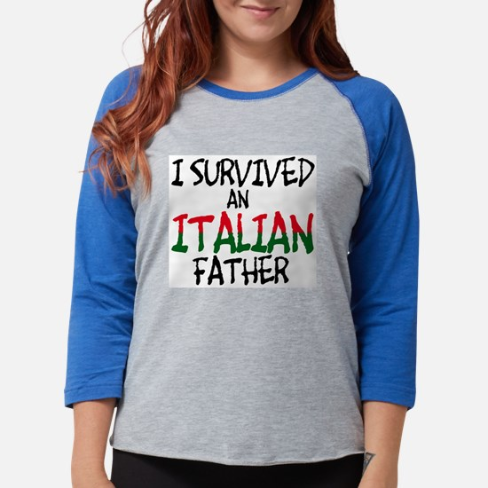 survived-italian-father-flat.psd Long Sleeve T-Shi