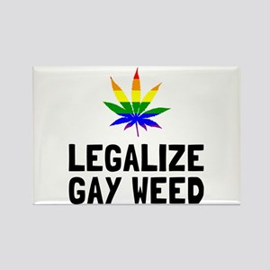 Legalize Gay Weed Magnets