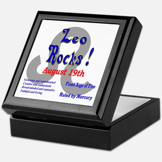 Leo August 19th Keepsake Box