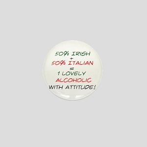 With Attitude! Mini Button