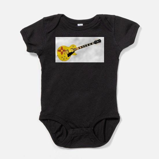 New Mexico State Flag Guitar Body Suit