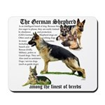 Profile GSD - Among the finest of breeds Mousepad