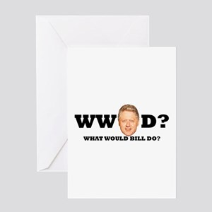 WW Bill D? Greeting Card