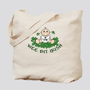 Wee Bit Irish Boy Tote Bag