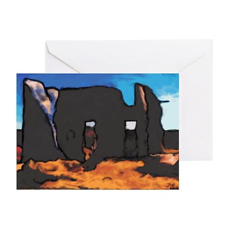 Ruin Greeting Cards (Pk of 10)