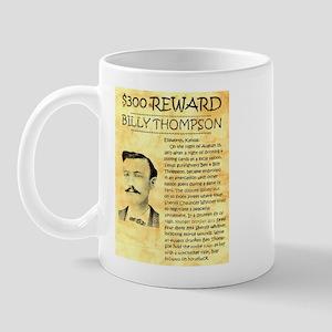 Billy Thompson Reward Mug