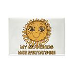 Love Grandparents Rectangle Magnet (100 pack)
