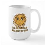 Love Grandparents Large Mug