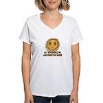 Love Grandparents Women's V-Neck T-Shirt