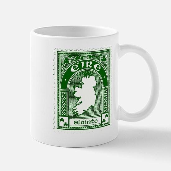 Eire Slainte Irish Clover Mug Mugs