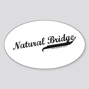 Natural Bridge Oval Sticker