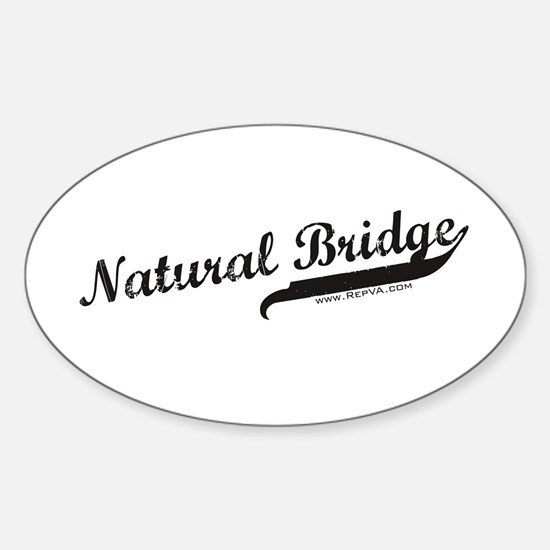 Natural Bridge Oval Decal